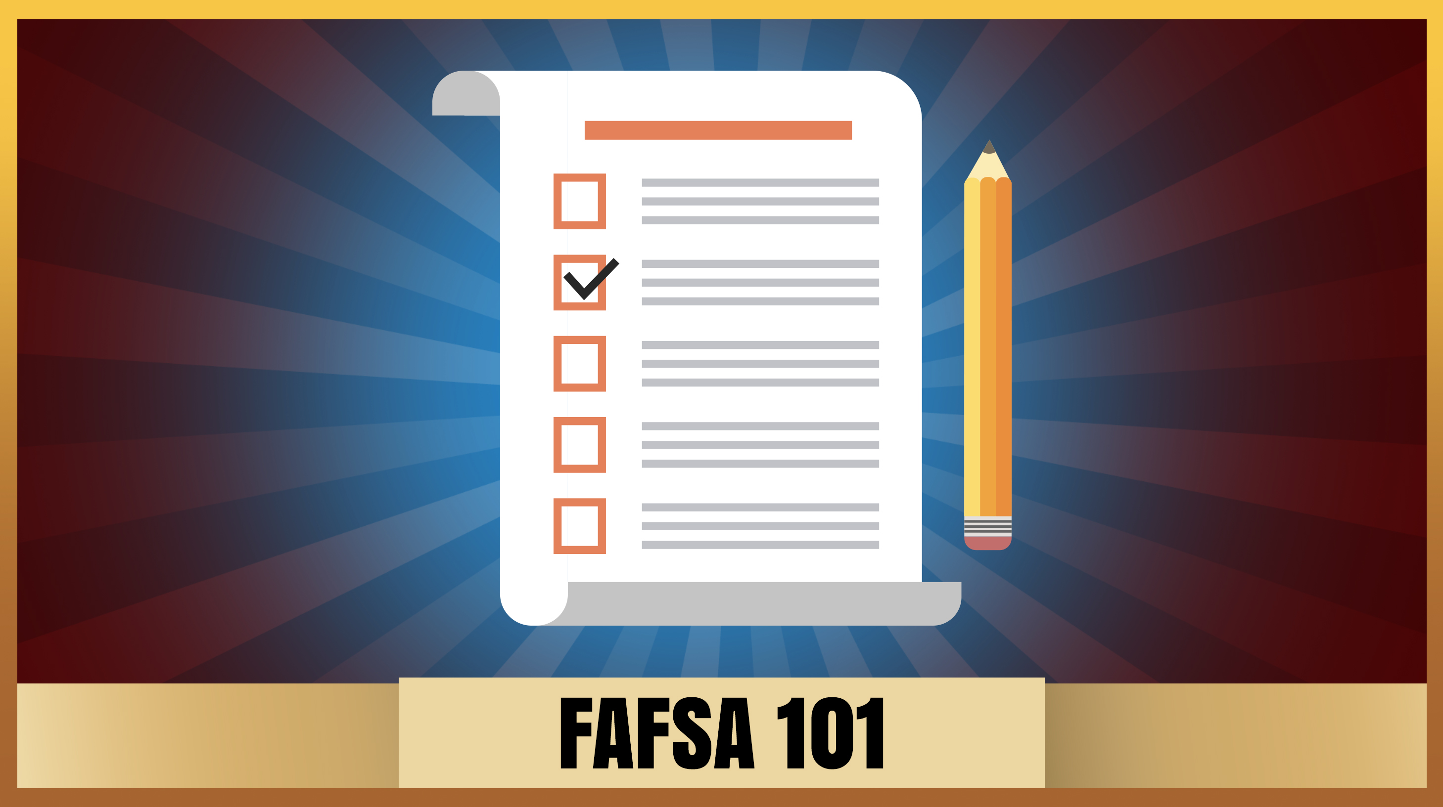 Picture of notes for FAFSA 101 Page