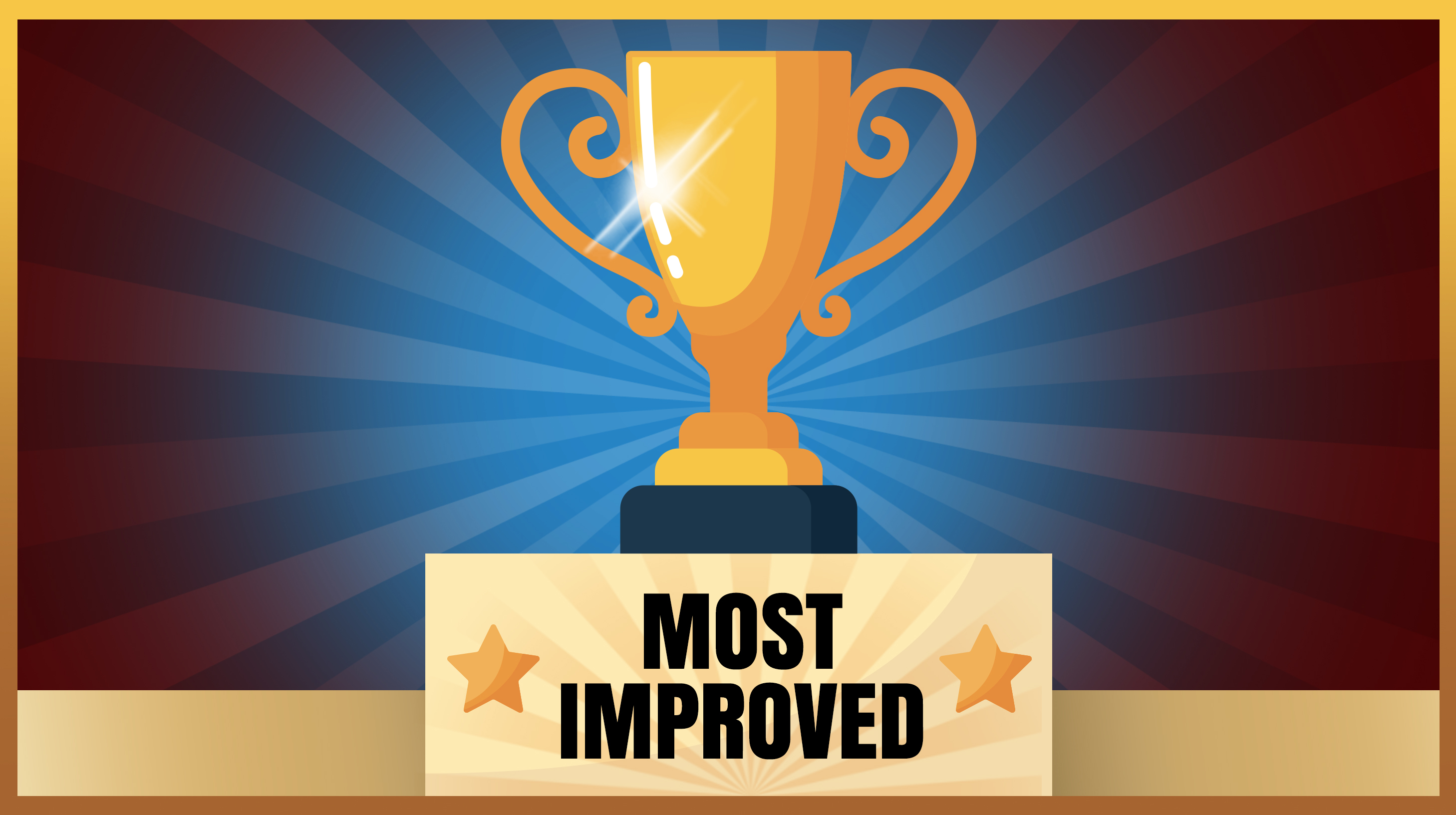 Most Improved Trophy image
